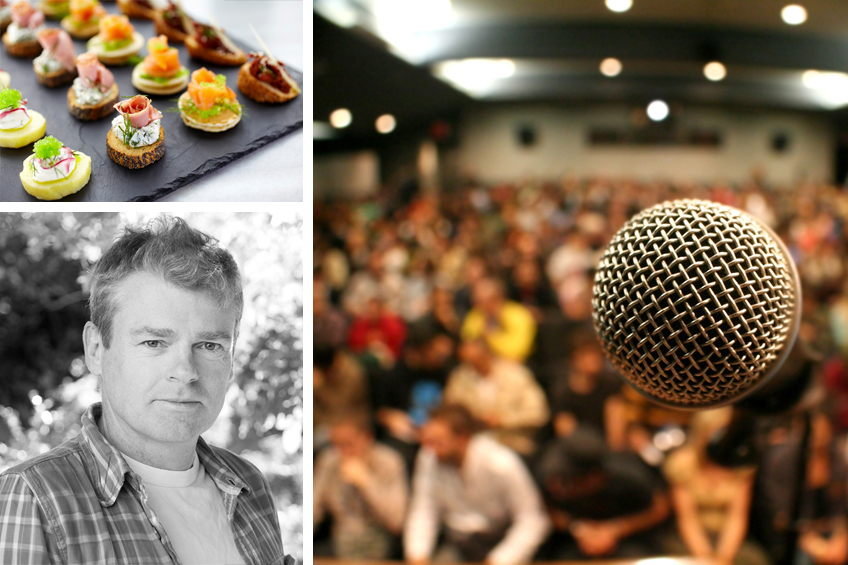 An Evening with Mark Haddon