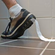 Mishearing is like other socially embarrassing things noticed by others but not by ourselves such as loo paper stuck to shoe