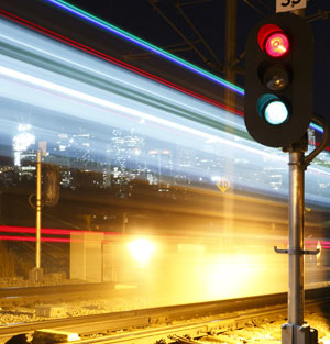Hearing adapts to the sounds we are used to, so if we live near a train station we may not notice the noise at night
