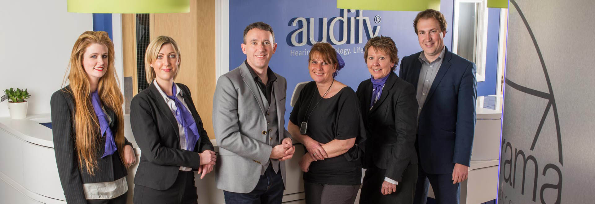 Meet the team at Audify®|Exeter