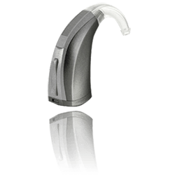 Example of behind the ear style hearing aid