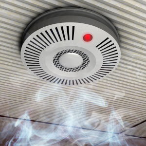 Hearing alerts us to environmental signals such as smoke alarms